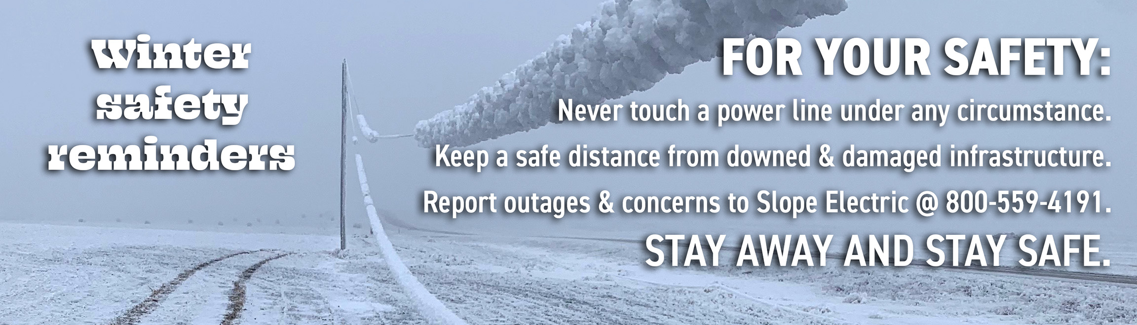 PSA: Winter Safety Reminders