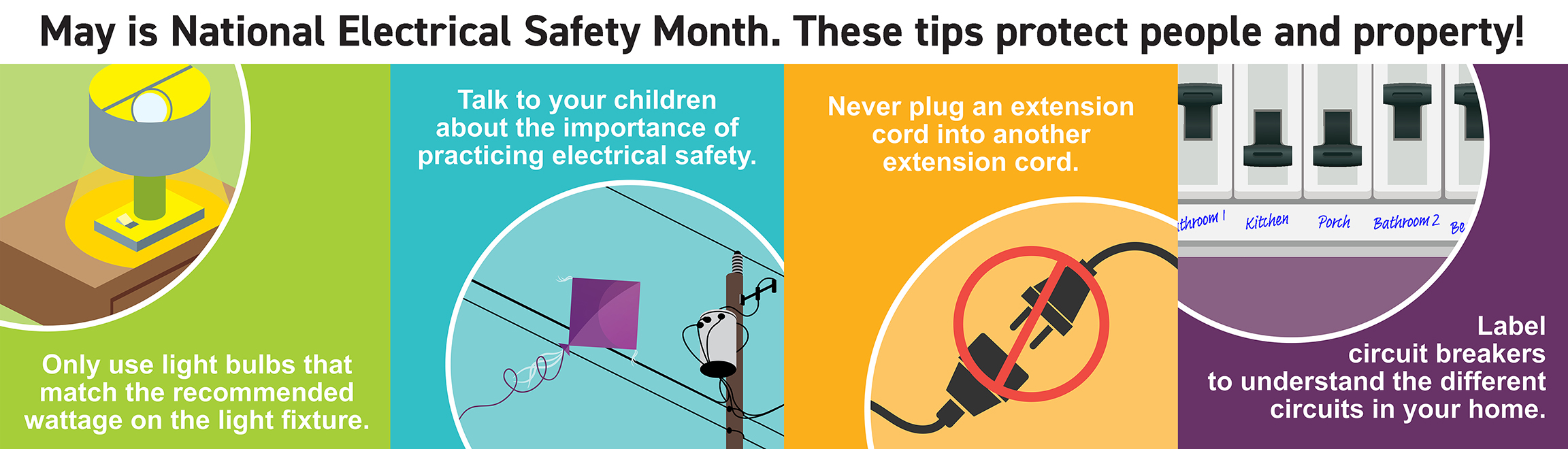 May is national electric safety month.